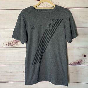 "Adidas • Stars & stripes ""go to tee"" size small"
